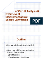 Chapter 0 - Overview of Electromechanical Energy Conversion