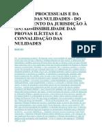 DIREITO PROCESSUAIS E DA TEORIA DAS NULIDADES.docx