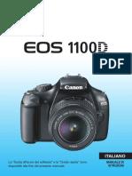 EOS 1100D Instruction Manual IT