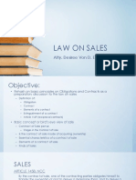 LAW ON SALES 01