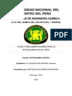 Marco Legal Petroquimica