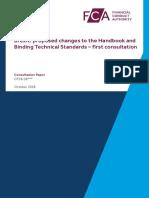 Consultation Paper FCA Handbook