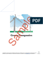 Green Companies Sample ESLlibrary 1