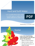1. Hard and Soft Water