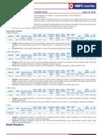 Medium Term Investment Portfolio June 2010