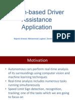Vision-based driver assistance system