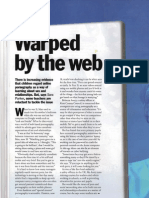 Warped by the Web