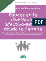 Manual para educar en la diversidad Afectivo-sexual