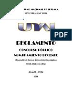 Unaj Reglamento Cp Nombramiento Docente 2018 110718 2