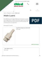 Luer Connectors Male Adaptors _ DirectMed
