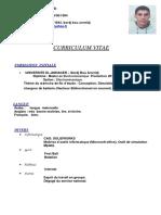 FAYCEL Hocine Gherbi CV