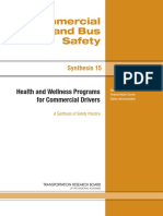 Health and Wellness Programs for CVommercial Truck Drivers 144 Pages