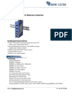 Bueno IEC 61850 3 Ethernet Switch