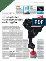 El Estado de Voto Electrónico en La Región