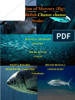 PART 1 - Adsorption of Mercury (Hg) using Milkfish Chanos chanos Scales