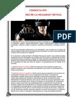 Aplicaciones de La Realidad Virtual Consulta 3