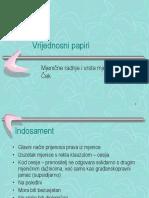 Vrijednosni Papiri Mjenične Radnje, Vrste Mjenica, Ček