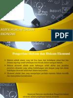 Aspek Hukum Dalam Ekonomi.pptx