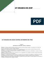 Ley Organica Del Bcrp diapositivas