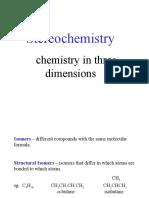 stereochemistry I