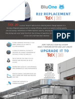 Bluon R22 REPLACEMENT UPGRADE IT TO TdX 20