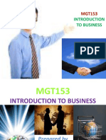 Introduction to Mgt153