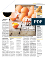 Ponle Huevos a Tu Vida y Muchas Proteínas