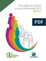 ENCUESTA INTERCENSAL MEXICO 2015