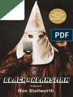 Black Klansman - Ron Stallworth