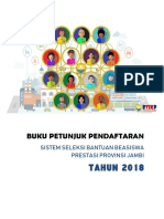 Buku Petunjuk Pendaftaran Beasiswa Versi2.0