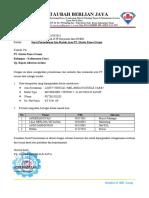 010. Surat Permohonan Izin Masuk Area PT. Harita Panca Utama