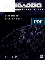 2004 Speedster Shop Manual