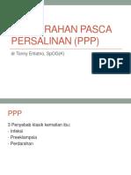 Perdarahan Pasca Persalinan (PPP)