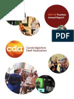 CDA Annual Report 2017-18