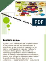 Desarrollo Personal, Social y Moral Exposicion