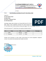 022. Surat Permohonan Pengajuan Izin Bekerja Di Area PT. PPA - PT. RUB
