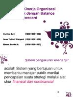 Pengukuran Kinerja Organisasi Sektor Publik Dengan Balance Scorecard