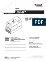 Manual Lincoln Electric Ranger 250 GXT