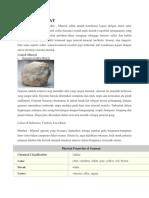 Mineral Sulfat