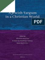 Alberdina Houtman - Staalduine-Sulman - Kirn, A Jewish Targum in a Christian World Edited