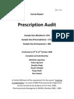 Presc Audit Report