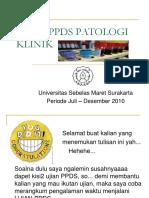 Ujian Ppds Patologi Klinik