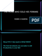 The Monk Who Sold His Ferrari 214
