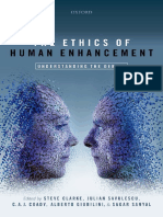 The Ethics of Human Enhancement. Understanding the Debate