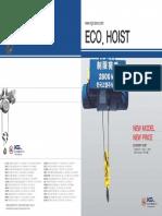 Eco Hoist Catalogue