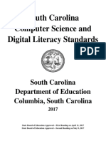 south carolina computer science and digital literacy standards