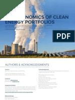RMI Economics of Clean Energy Portfolios