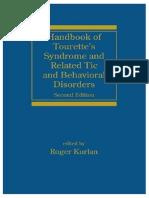2008 - Managing Tourette Syndrome - Adult Workbook