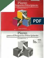Piano Basico de Bastien Piano Elemental A Para El Pequeno Principiante.pdf