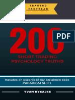 200 trading psychology